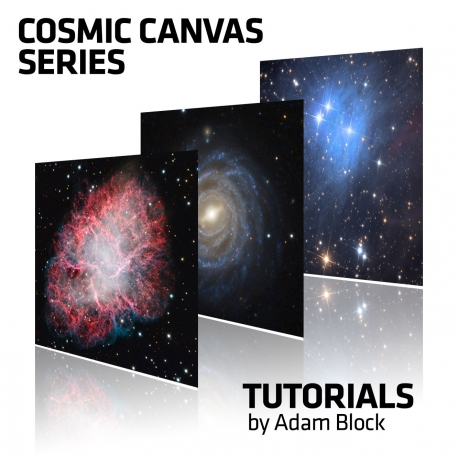 Serie Cosmic Canvas